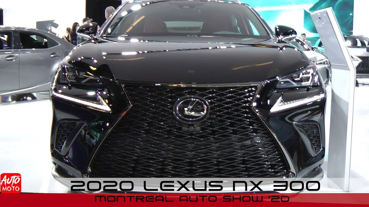Lexus NX 300 tại Montreal Auto Show 2020
