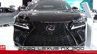 2020 Lexus NX 300 - Exterior And Interior - Montreal Auto Show 2020