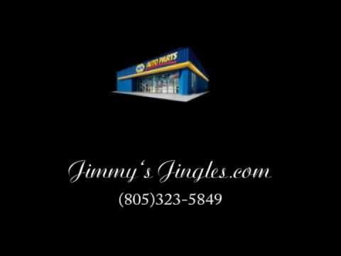 jimmy's jingles napa auto parts commercial and jingle