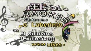 Grupo Laberinto -  El Solovino - Karaoke demo 2016