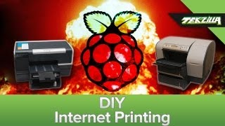 Print From Your Phone! Diy Airprint = Google Print Server + Raspberry Pi