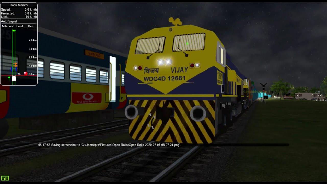 Guwahati - New Bongaigaon Passenger In Indian Train Simulator In Open Rails