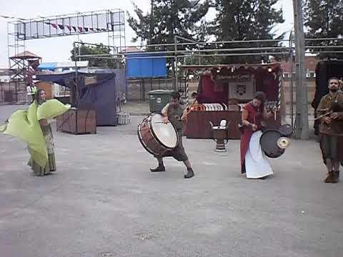 musica medieval feira de corroios!