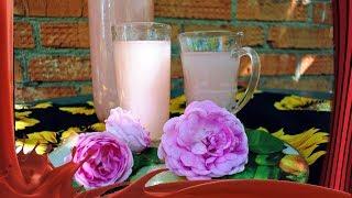 Квас из чайной розы /// Освежающий летний напиток.