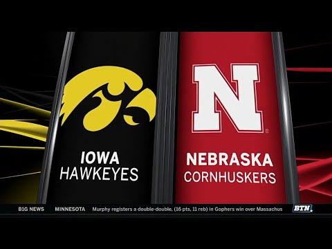 Iowa at Nebraska - Football Highlights