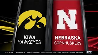 Iowa at Nebraska - Football Highlights