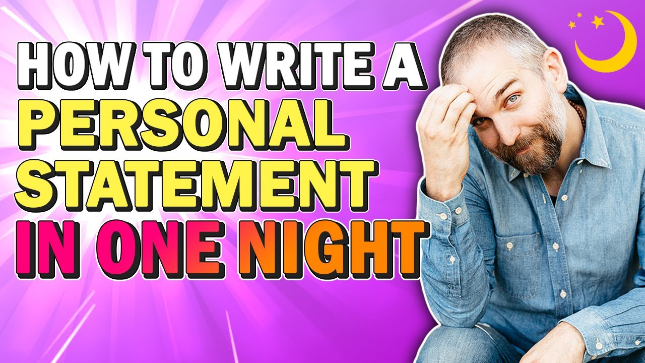 write my personal statement