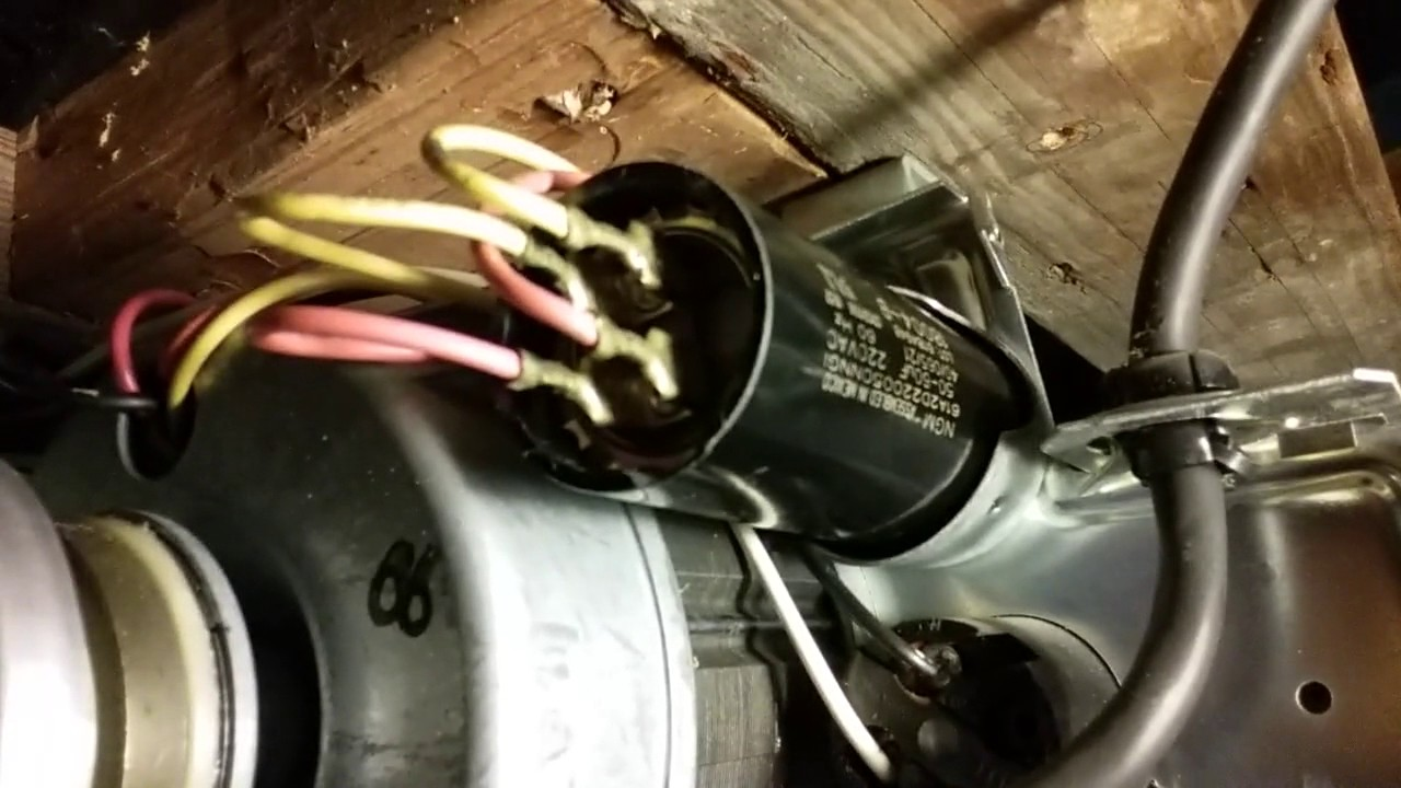 genie garage door capacitor replacement [ 1280 x 720 Pixel ]