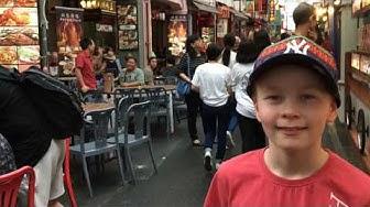 Singapore, matka ja päivä 1