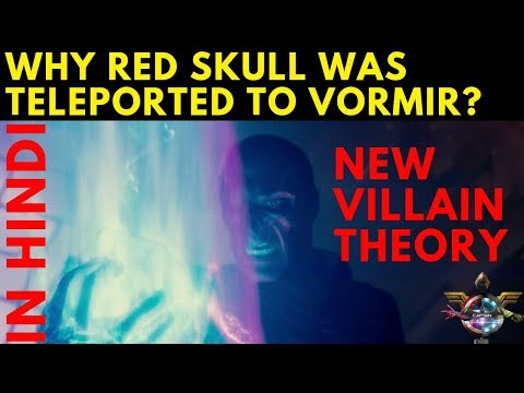 Avengers 4 New Villain And Why Red Skull Was Teleported To Vormir Fan THeory || In HINDI ||