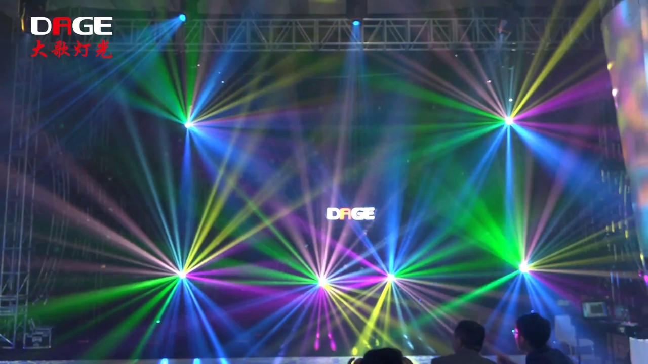 amazing lighting. amazing lighting show in prolightsound 2017 dage stage master co ltd