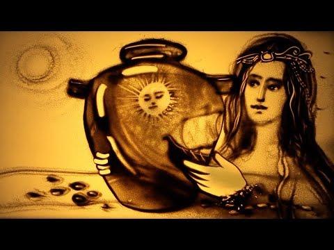 "Awesome sand art ""GREECE"" by Kseniya Simonova (2018) | Песочное шоу ""Греция"" (Ксения Симонова)"