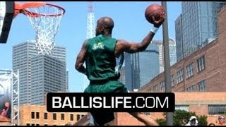 Air Up There Is The BEST Dunker ALIVE! NBA/Sprite Dallas Dunk Contest