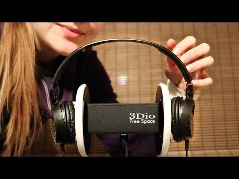 Rough ASMR ♥ Handling Your Ears with Headphones