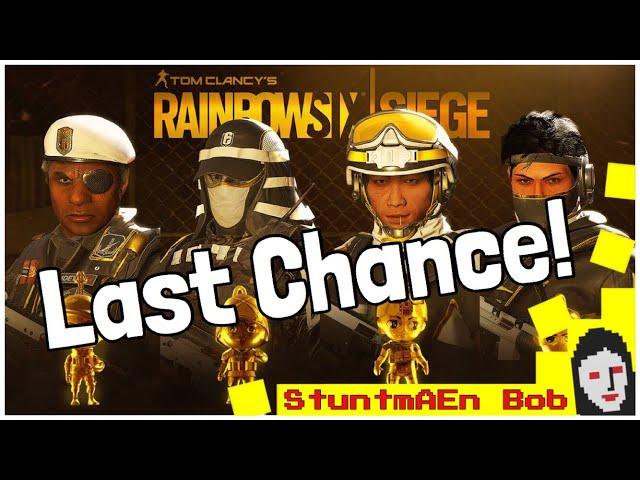 LAST CHANCE to get PRO LEAGUE SETS year 3 season 2 - Rainbow Six Siege - PRESENTATION