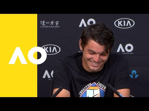 Taylor Fritz press conference (2R) | Australian Open 2019