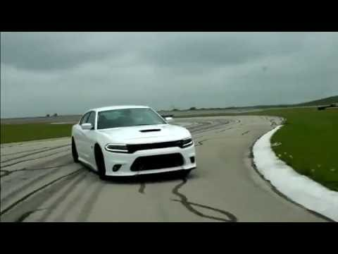 dodge charger hellcat srt scat pack high speed drifting  track youtube