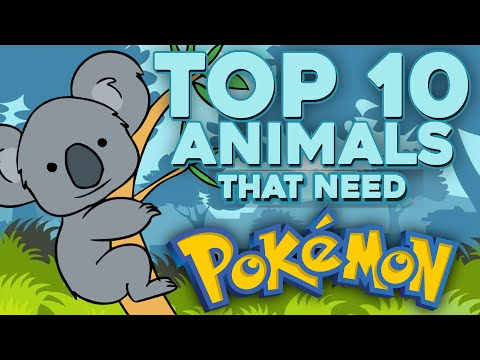 Top 10 Animals That Need Pokemon In Sun And Moon (Feat. BabyPowdahh)