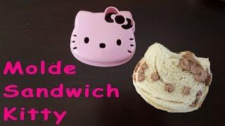 Molde para sandwich Kitty / DEMO