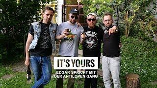 Interview - Edgar spricht mit der Antilopen Gang (Autotune, Alf, Humor und Curse)