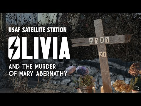 USAF Satellite Station Olivia and the Murder of Mary Abernathy - Fallout 4 Lore