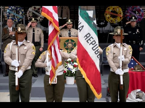 47th Annual Los Angeles County Peace Officers' Memorial Ceremony