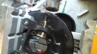 How to remove lower ball joint from 1995 honda accord
