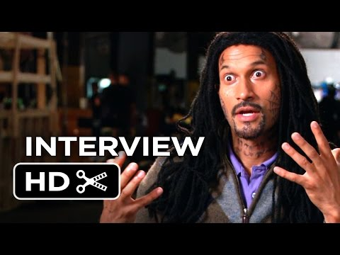 Let's Be Cops Interview - Keegan Michael Key  (2014) - Damon Wayans Action Comedy HD