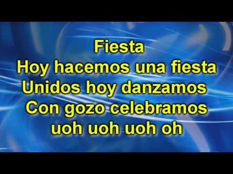 LETRA HD Rey Vencedor, Fiesta y Viene Ya - MIEL SAN MARCOS