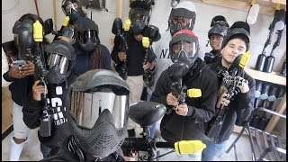 TOOK THE KID'S PAINTBALLING!