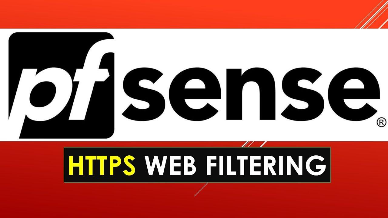 PFsense HTTPS WebFiltering