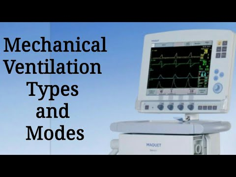 Types and modes of Mechanical ventilation - YouTube