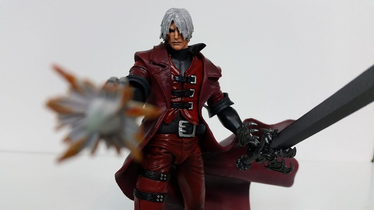 Neca Toys Devil May Cry Dante Figure Review - YouTube