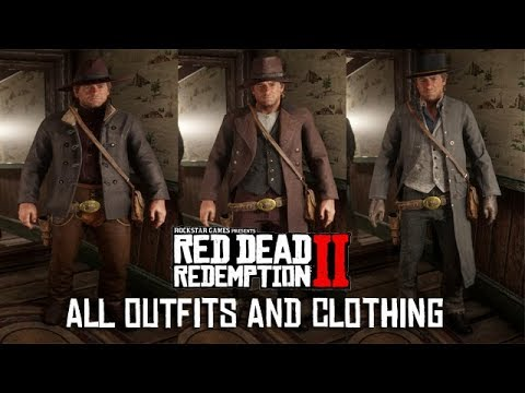 Red Dead Redemption 2 Valentine General Store Outfits Clothing Items