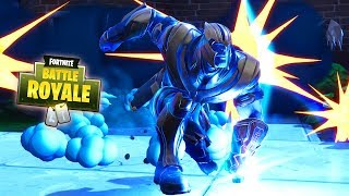 HOW TO GET THANOS + ALL THANOS ABILITIES & POWERS - Fortnite Battle Royale Infinity Gauntlet Event
