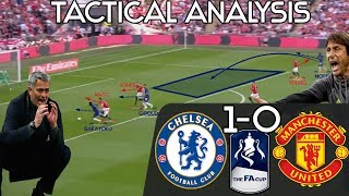 How Conte's Chelsea Won The FA Cup After Giving Mourinho A Taste Of His Own Medicine: Tactics
