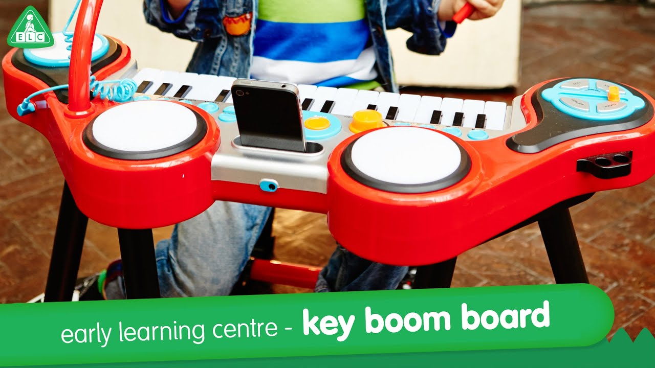 Early Learning Centre - Key-Boom-Board Musical Toy - YouTube