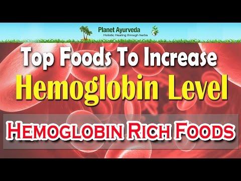 Top Foods To Increase Hemoglobin Level | Hemoglobin Rich Foods