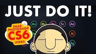 5 REASONS Why You Should DOWNLOAD Adobe Creative Cloud CC 2018 vs CS6