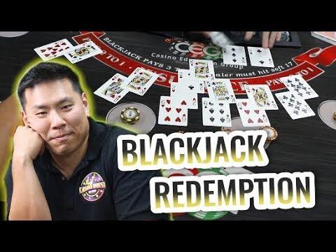 CAN ALEX REDEEM HIMSELF? - BIGGEST BLACKJACK WIN - Live Session