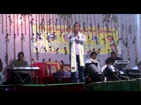 Vishnu ojha  live stage show in katari