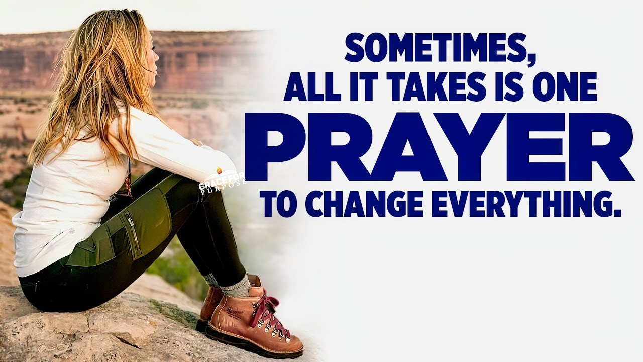 Pray and Keep Praying Until God Answers You | An Inspirational Sermon On The Power Of Prayer