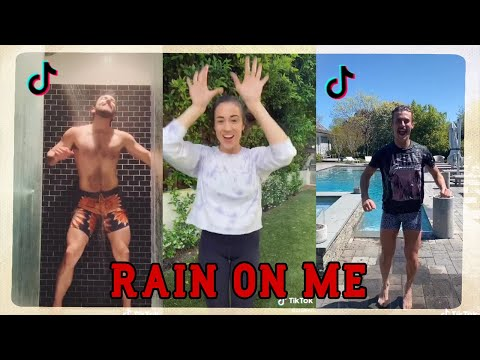 Lady Gaga, Ariana Grande - Rain On Me Challenge TikTok Compilation