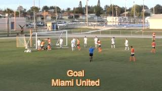 Cape Coral Hurricanes Vs Miami United NPSL 5/4/13