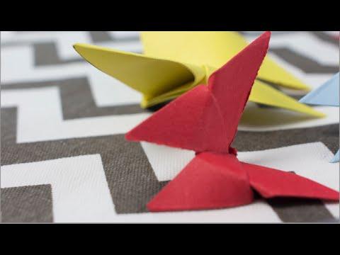 C mo hacer mariposa de papel youtube - Como hacer mariposas de papel ...