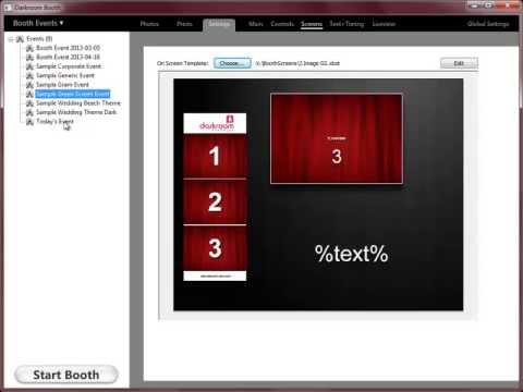 How to build a self run photo booth using a touch screen all in one for a full video tutorial from darkroom software on how to setup the software and selecting the output such as printing images watch below solutioingenieria Image collections