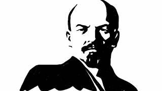 Vladimir Ilyich Lenin drawing