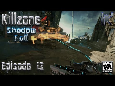 Let's Play Killzone Shadow Fall - Episode 13: Mobile Scan Units SUCK!!