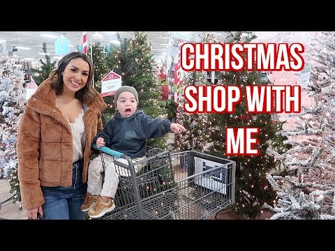 CHRISTMAS DECOR SHOP WITH ME 2019 | ALEX GARZA