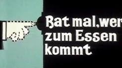RAT MAL WER ZUM ESSEN KOMMT - Trailer (1967, Deutsch/German)
